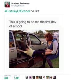 Just 17 Funny Tweets About The First Day Back At School