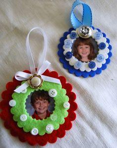 cute picture ornaments