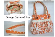 BumbleBee Bliss: Handmade Handbags / Gathered Bag Tutorial