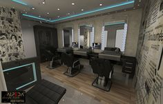 barber interiors - Google Search