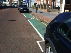 """""""Yes, you can cycle through the city, but you must stay in the bike lane."""""""