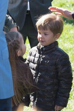 Prince Vincent and Princess Josephine of Denmark April 2015