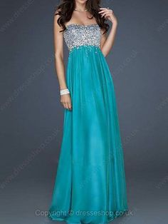 Long real prom dress