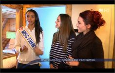 Week-end d'intégration Miss France 2014 _ Marine Lorphelin _ Flora Coquerel & Delphine Wespiser