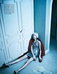 Elisabeth Erm by Emma Summerton for Vogue Germany April 2014, I don't mean rhinestones!
