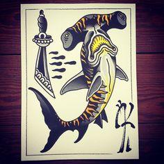 Paul Simon Kelu Tattoo Flash | KYSA #ink #design #tattoo