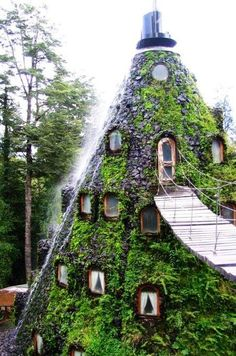 neat. looks like snow white and the seven dwarfs would live here. Get inspired by Confident Living!