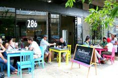 Eat at Chalkboard in Maboneng Precinct, Johannesburg, Gauteng. http://www.gauteng.net/attractions/entry/maboneng_precinct/
