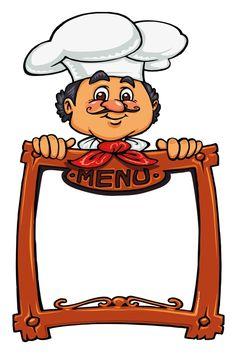 Imã de geladeira chef menu #imadegeladeira #chefmenu