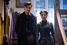 The Doctor & his new companion, Clara.