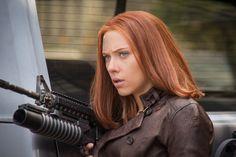 Natasha Romanoff (Scarlett Johansson), Captain America: The Winter Soldier   8 Female Movie Heroes Who Kicked Ass In 2014