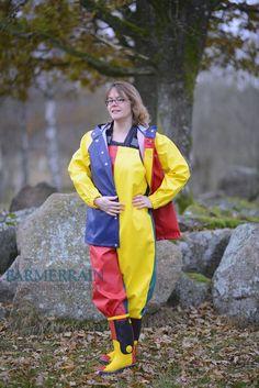 Girls Wear, Women Wear, Yellow Rain Boots, Rain Suit, Pvc Raincoat, Rain Jacket Women, Rain Gear, Girls In Love, Windbreaker