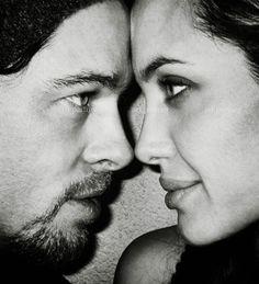 Brad Pitt & Angelina Jolie ♥