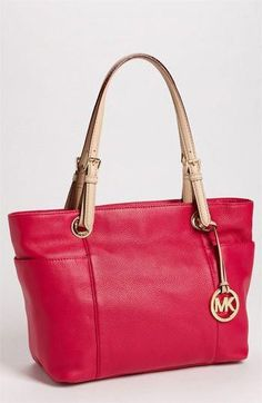 9b08676b61 MICHAEL Michael Kors  Jet Set  Tote in Luggage available at  Nordstrom   Handbagsmichaelkors