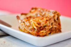 Simple, Kid Friendly Lasagna