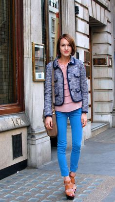 love the look. london street style.