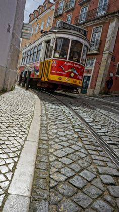 L Lisbon, Portugal :-) Places In Portugal, Visit Portugal, Portugal Travel, Lisbon Tram, Asian House, Rail Europe, Tramway, Commuter Train, S Bahn