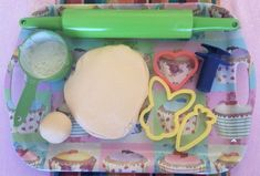 Soutklei resep / play dough recipe (recipe is in Afrikaans)