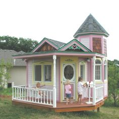I want to build a playhouse for my Nana-Children!  :-)