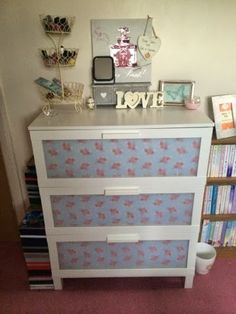 Rebekah Writes...: ღ Chest of Drawers Makeover ღ