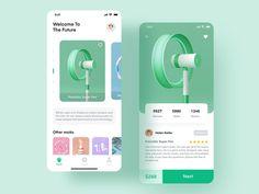 Super future works - concept by Strive Ui Design Mobile, App Ui Design, Interface Design, Dashboard Design, Flat Design, Layout Design, Design Design, Icon Design, App Design Inspiration