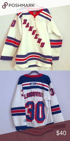 New York Rangers jersey Henrik Lindqvist youth L/Xl New York Rangers jersey. In good condition Other