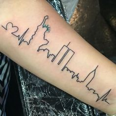 nyc skyline tattoo ideas - Google Search