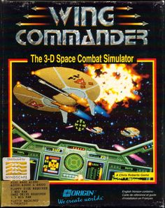 Wing Commander (Commodore Amiga for sale online Classic Video Games, Retro Video Games, Video Game Art, Retro Games, Pac Man, Playstation, Xbox 360, Pc Engine, Nintendo