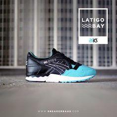 "#latigobay #asicsgellyte #gellyte #poormansdiamond #sneakerbaas #baasbovenbaas  Asics Gel-Lyte V ""Latigo Bay"" - Now available!"