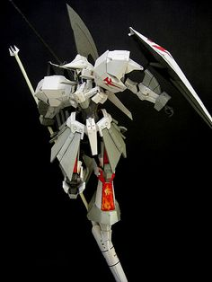 Five Star Stories - LED Mirage Papercraft by Gommorah - http://www.papercraftsquare.com/five-star-stories-led-mirage-papercraft-by-gommorah.html#FiveStarStories, #LEDMirage, #Mecha, #Mirage