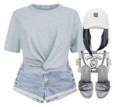 """""""Oasis"""" by oh-aurora ❤ liked on Polyvore featuring Levi's, T By Alexander Wang, Chanel and Puma"""