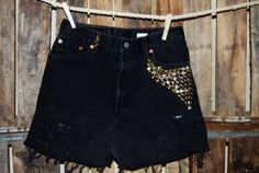 I like the studs, but I think if they were on jeans they would be so much cooler.(: