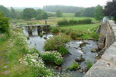 Fingle Bridge, just outside west Dartmoor Devon Uk, South Devon, Devon England, Devon And Cornwall, England And Scotland, Devon Life, Dartmoor National Park, Large Photos, English Countryside