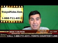 Week 7 College Football Picks Betting Predictions Point Spread Odds Prev...