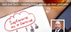 IaaS and SaaS – helping Exaxe deliver on its promises Articles, Reading, Word Reading, Reading Books, Libros