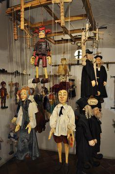 A puppet shop in Prague