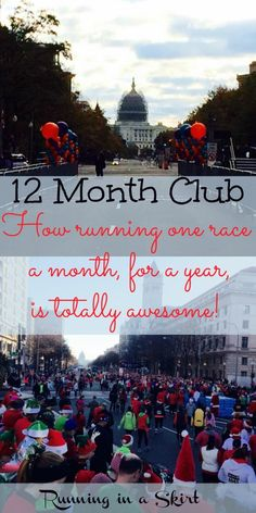 12 Month Club   Running in a Skirt How Running one race a month for a year is awesome!/ Running in a Skirt