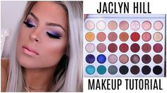 Jaclyn Hill Palette Makeup Tutorial / mini review | Valerie Pac