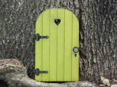 Fairy Door fairy garden accessories miniature wood citrus