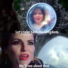 Hope to see more evil queen & snow scenes this season like this one.