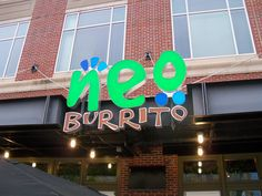 Neo Burrito in South Asheville at Biltmore Park Town Square. #avleat