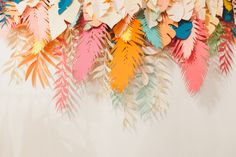 Paper safari backdrop via Un Beau Jour