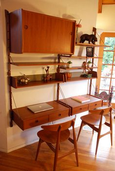 A nice collection of teak furniture...