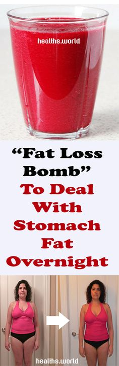 """""""Fat Loss Bomb"""" To Deal With Stomach Fat Overnight – Healths World"""
