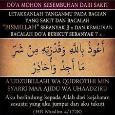 Doa Nabi Muhammad S.W Sembuhkan Bagian Tubuh yang Sakit Hijrah Islam, Doa Islam, Prayer Verses, Quran Verses, Islamic Inspirational Quotes, Islamic Quotes, Muslim Religion, Pray Quotes, Learn Islam