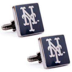 New York Mets Black Series Cufflinks - MLB.com Shop