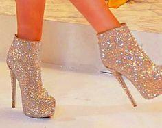 Full Bling Heels