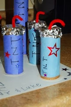 "Father's Day Craft ""To My Dynamite Dad"""