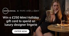 Shopological is giving away a £250 gift card to spend on luxury lingerie. I've entered and you should try your luck too!