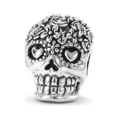 Highly Detailed Solid .925 Sterling Silver European Charm Bead, Approximately 10.5mm Wide x 14mm High x 10mm Deep, Quality Screw-on / Threaded